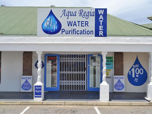 Aqua Regia Shop Front Mossel Bay